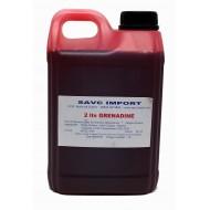 Concentré grenadine pour granité 2 litres