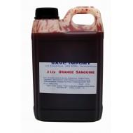 Concentré orange sanguine pour granité 2 litres