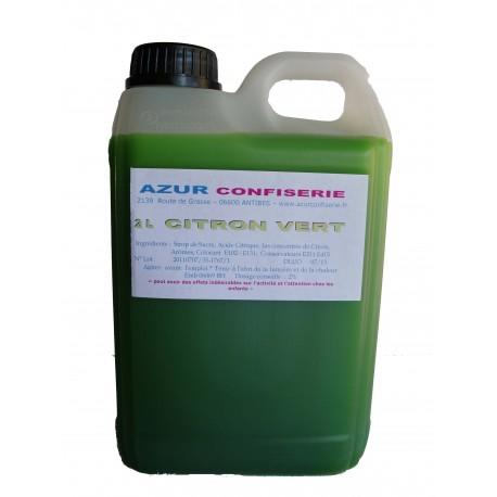 Concentré citron vert pour granité 2 litres