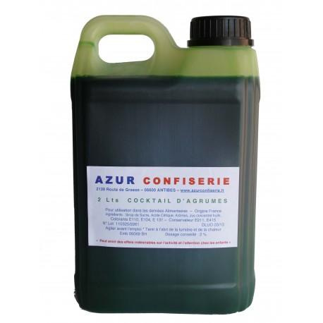 Concentré Cactus Agrumes pour granité 2 litres