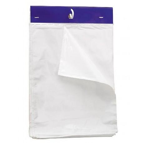 Liasse 100 sachets transparents 17 X 22 cm