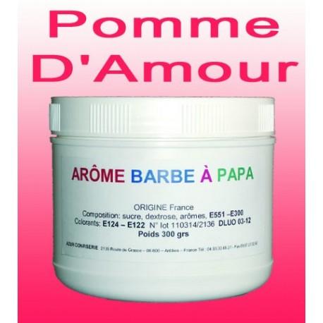 Arôme barbe à papa Pomme d'Amour 300 Grs