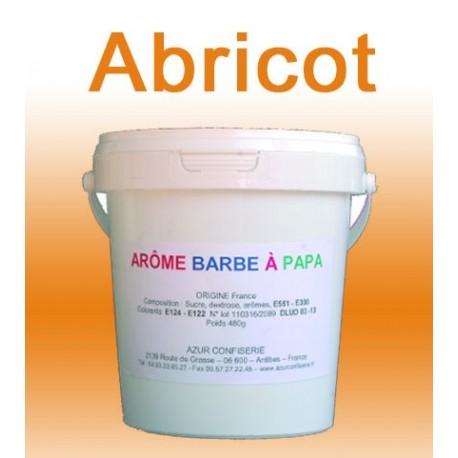 Arôme barbe à papa Abricot 480 Grs