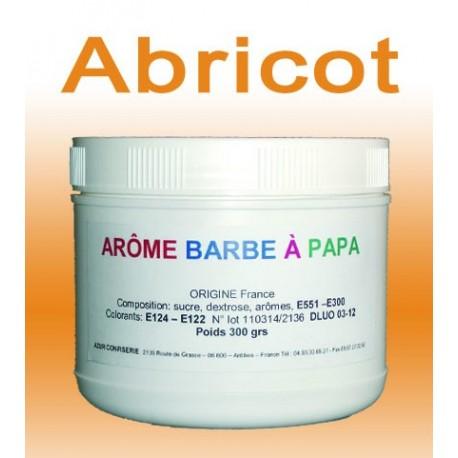 Arôme barbe à papa Abricot 300 Grs