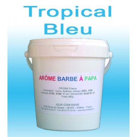 Arôme barbe à papa Tropical bleu 480 Grs
