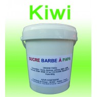 Sucre à barbe à papa Kiwi 1000g