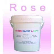 Arôme barbe à papa Rose 480 Grs
