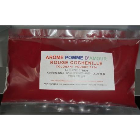 Colorant rouge pour Pomme d'Amour Cochenille en poudre 100 grs