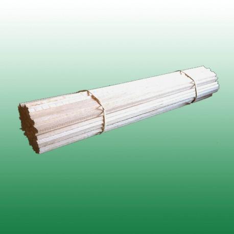 Pack de 100 bâtons en bois 35 cm pour barbe à papa