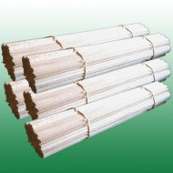 Pack de 500 bâtons en bois 40 cm pour barbe à papa