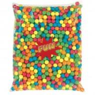 Billes de chewing gum dragéifiées sachet de 2,5 kg T 17 mm