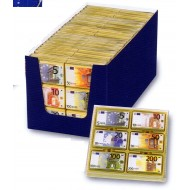 Billets de Banque Euros Chocolat au Lait 120 grs