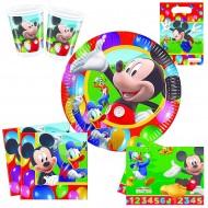 "Set Anniversaire Décor ""Mickey Party Time"""