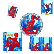 """Set Anniversaire Décor """"Spiderman"""""""
