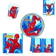 "Set Anniversaire Décor ""Spiderman"""