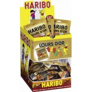 Ours D'or Haribo Tubo 40 Grs X 30 Sachets