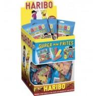 Super Mini Frites Haribo Tubo 30 Sachets de 40 Grs