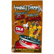 Frizzy Pazzy X 50 Cola. Chewing-gum explosif