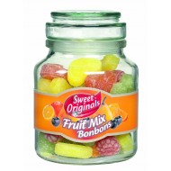 Bonbons de Fruits Mix Bocal de 300 Grs