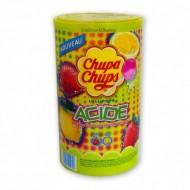 Sucettes Chupa Chups Acide aux FruitsTubo de 150