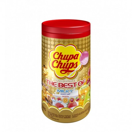 Sucettes Chupa Chups The best Of Tubo de 150