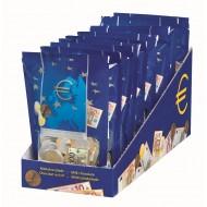 Sachet Pièces de monnaie Or & Billet banque Euro Lait 150 Grs