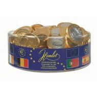 Tubo Pièces de monnaie Euro Or Lait 500 Grs