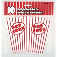 Gobelet Pop corn 75 cl X 10 rouge et blanc