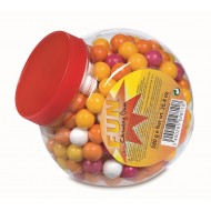 Billes de chewing gum dragéifiées Tubo 580 Grs