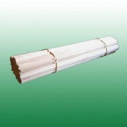 Pack de +/-200 bâtons en bois 30 cm pour barbe à papa