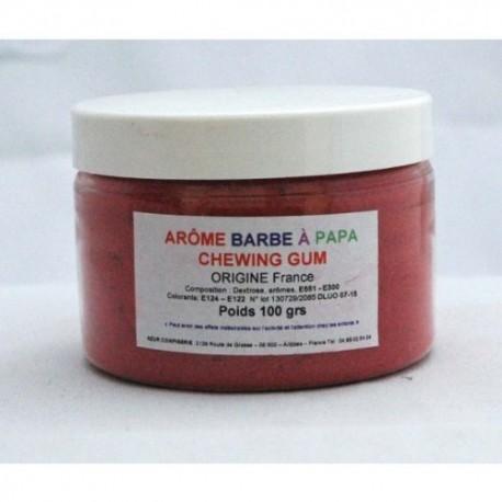 Arôme barbe à papa Chewing-gum Pot 100 Grs
