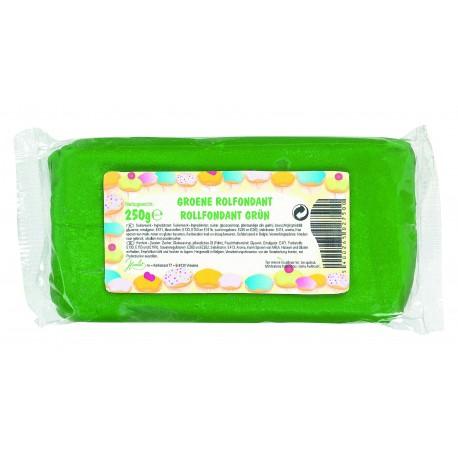 Pâte a sucre/Fondant déco Vert 250 grs