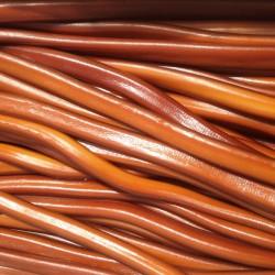 Cable Marron Cola Lisse Réglisse - Luna-Park 67 cm carton de 100 pièces