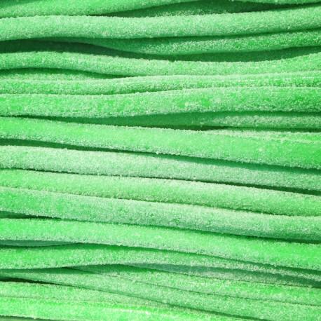 Cable Pomme Acidulée Réglisse - Luna-Park 67 cm carton de 100 pièces