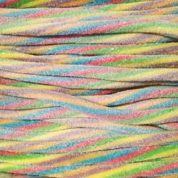 Réglisses américains Tutti Frutti acidulé - Luna-Park 67 cm carton de 100 pièces