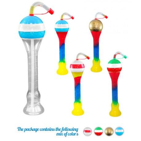 Yard Cups/Ice Cup Foot Pet 350 ml. Colis de 133 tubes