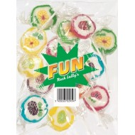 Sucettes Fun Rock Lolly's sachet 200 grs