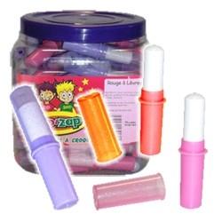 Rouge à Lèvres zip&zap boite présentoir de 100