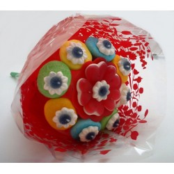 Bouquet Fleur en Bonbons 100 grs