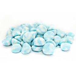 Bisous Twist crêmeux Bleu Sucrés Sachet de 1 kg Dulceplus