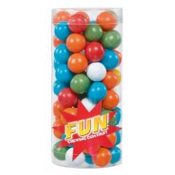 Billes de chewing gum dragéifiées Tubo 200 Grs