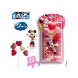 Kit de décoration Minnie pour gâteau