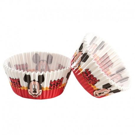 Caissettes à Cupcakes Mickey x 50 unités