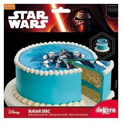 Disque en Sucre Starwars 16 cm