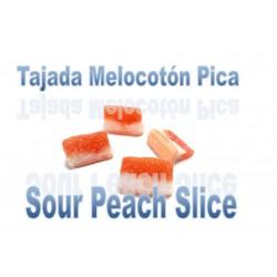 Tranches de Pêche Acide Sachet de 1 kg Dulceplus