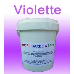 Sucre à barbe à papa Violette 1000g