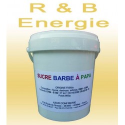 Sucre à barbe à papa R.Bull Energie 1000 g