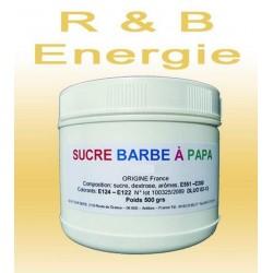 Sucre à barbe à papa R.Bull Energie 500g
