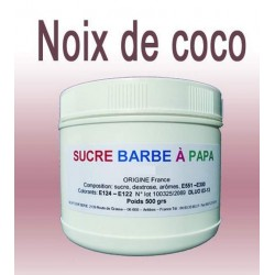Sucre à barbe à papa Noix de coco 500g