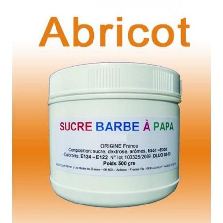 Sucre à barbe à papa Abricot 500g
